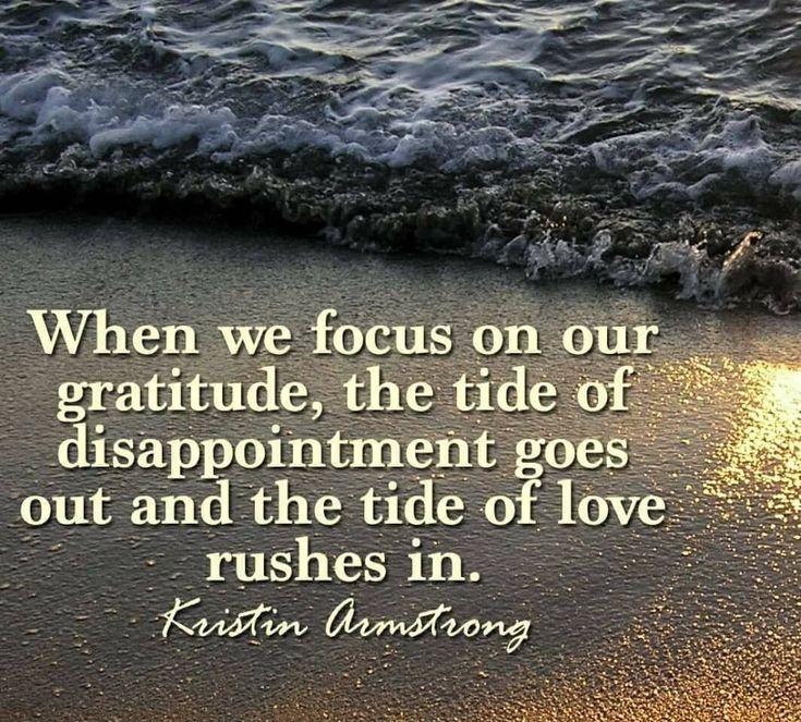 Gratitude ~ Kristin Armstrong