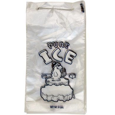 8 ice bags on wicket pure ice by bestpolybag perfect for automatic