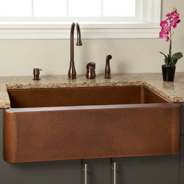 25 best ideas about Copper farmhouse sinks on Pinterest