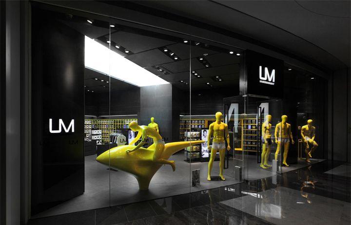 UM men's underwear store by AS Design, Shenzen. #retail #interiordesign