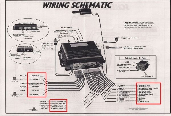 Car Alarm Installation Wiring Diagram Car Alarm Viper Car Wireless Home Security Systems