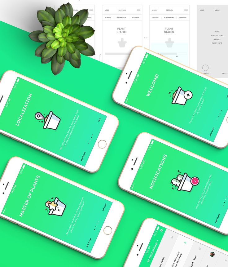 Plantapp - U Plant App on App Design Served