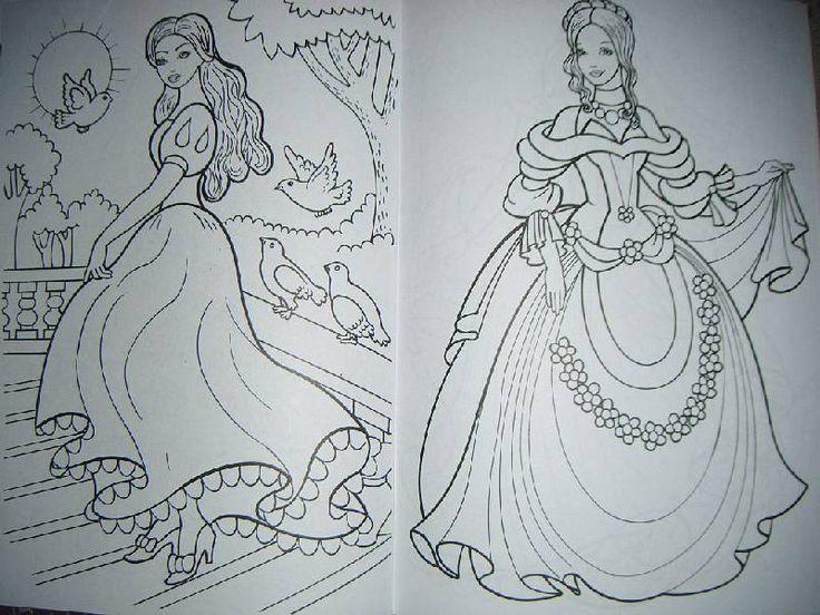 Иллюстрация 6 из 6 для Раскраска: Сказочные принцессы | Лабиринт - книги. Источник: Iwolga