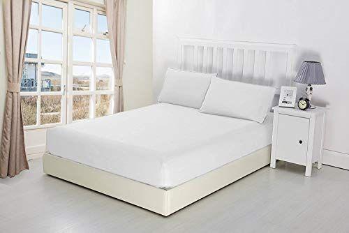 Niys Luxury Bedding 100 Egyptian Cotton Extra Deep Ed Sheets 16 40cm Bedsheets 15 Colours Single White