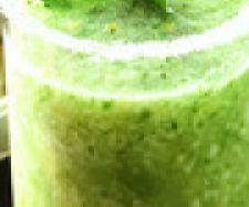 zumo de kiwi y limón