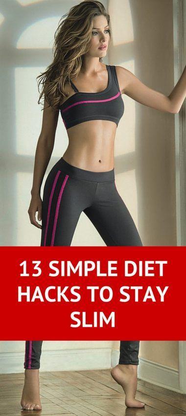 13 Simple Diet Hacks To Stay Slim
