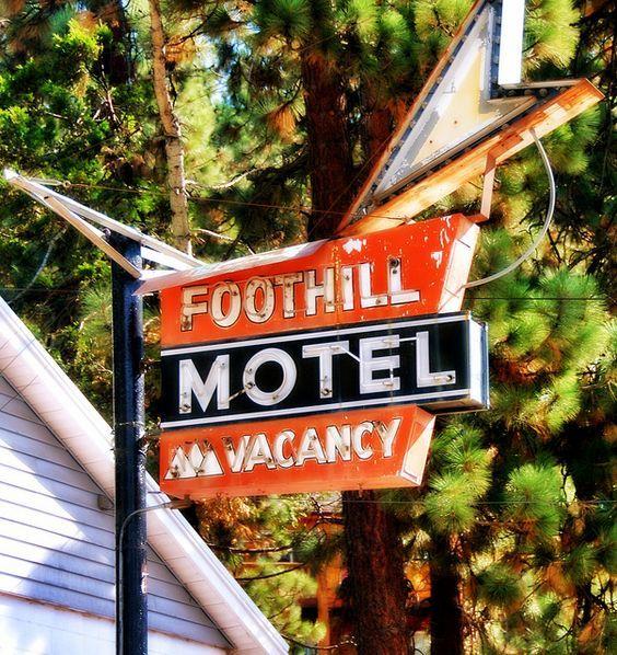 Foothill Motel Lake Tahoe, California
