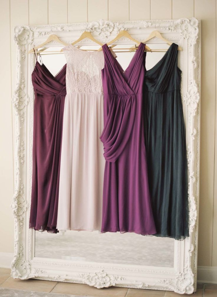 Jewel tone bridesmaid dresses:http://www.stylemepretty.com/2014/09/30/15-beautiful-bridesmaids-dresses-for-fall/ | Photography: Elisa Bricker - elisabricker.com