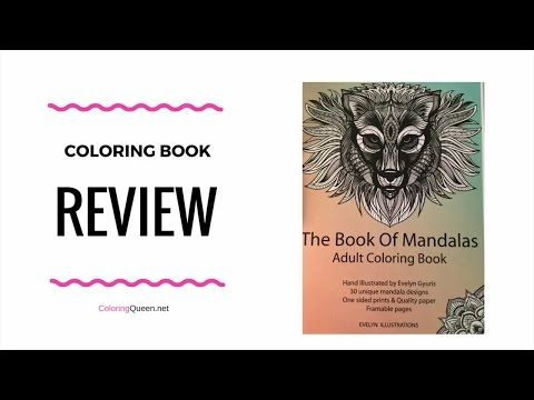 The Book of Mandalas - Evelyn Illustrations | Coloring Queen #evelyngyuris #eveylynillustrations #mandala #coloringbookreview #adultcoloring #zentangle #mandalacoloringbook #bookofmandalas #handmadecoloringbook