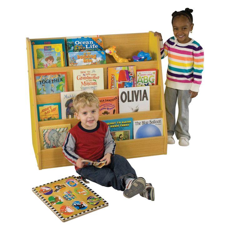 ECR4KIDS Colorful Essentials Big Book Display Stand - ELR-0719-BL