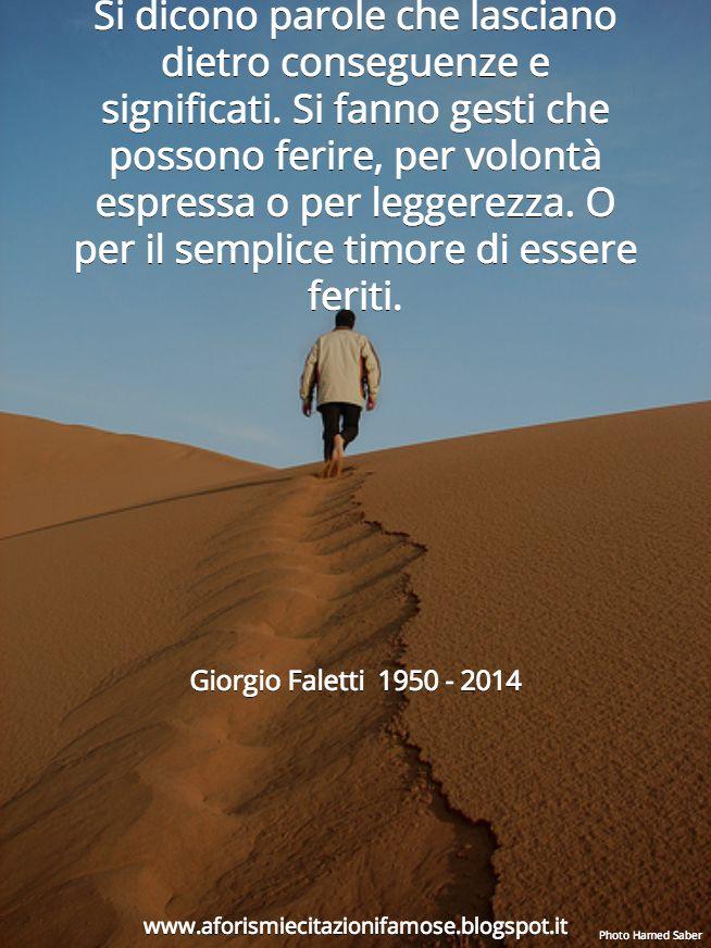 Aforismi e citazioni famose: Aforisma Bello Giorgio Faletti