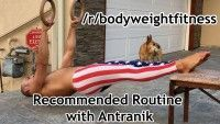 How to do bodyweight rows with minimal equipment