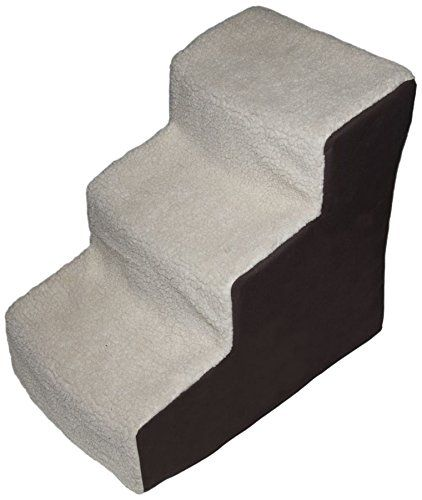 Pet Gear Easy Step III Deluxe Soft 3-Step Pet Stairs for Pets Up to 150-Pound, Oatmeal/Chocolate *** Find out more about the great product at the image link.