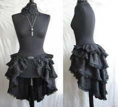 how to make a steampunk bustle