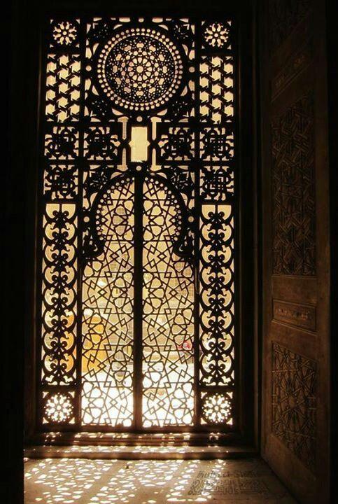 Arabesque Window By Nathan Schmidt In A Mosque Cairo Egypt Ursula Rowena Carlton Interior Design