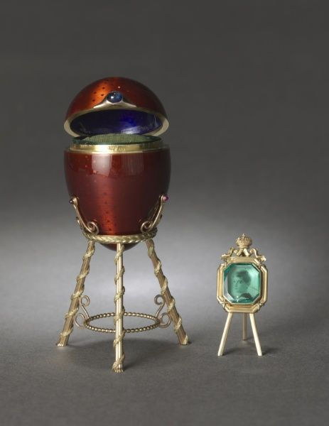 Easter Egg  Fabergé, 1896  The Cleveland Museum of Art: Artifact, Faberge Eggs, Cleveland Museums, 1896 Sources, Easter Eggs, Gold Easels, Fab Eggs, Eggs Fabergé, Enamels