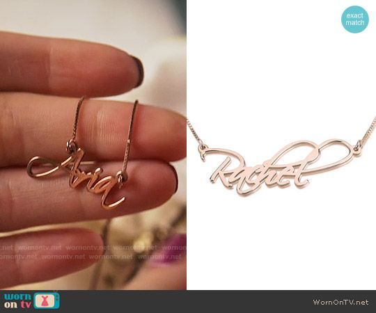 The Liars Name Plate Necklace On Pretty Little Liars