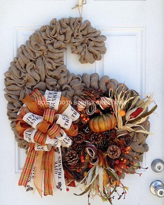 Autumn Fall Thanksgiving Cornucopia Horn of Plenty by dottiedot05