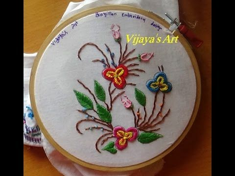 Embroidery Designs # 198 - Brazilian embroidery designs