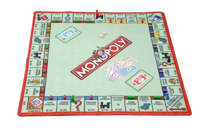 🎩 Großer Monopoly-Spielteppich mit Figuren, Spielgeld und Co. von Hasbro Gaming 🎩 Preis: 22,90 inkl. Versand, gefunden auf Amazon Gibt es hier: http://amzn.to/2kpcekx  #fuerKinder #spielen #Monoply #Kinderzimmer #Spielteppich #Affiliate