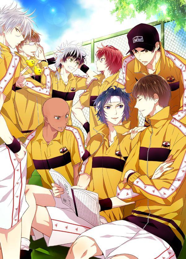 Rikkaidai Tennis team Prince of Tennis