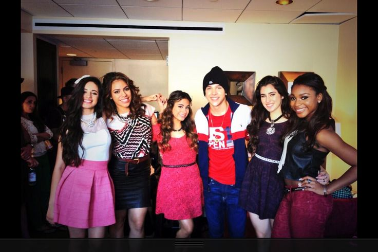 Fifth Harmony with Austin Mohone