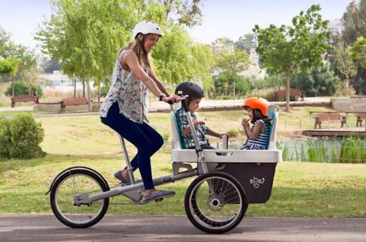 Biking with Kids: 9 Best Family Cargo Bikes
