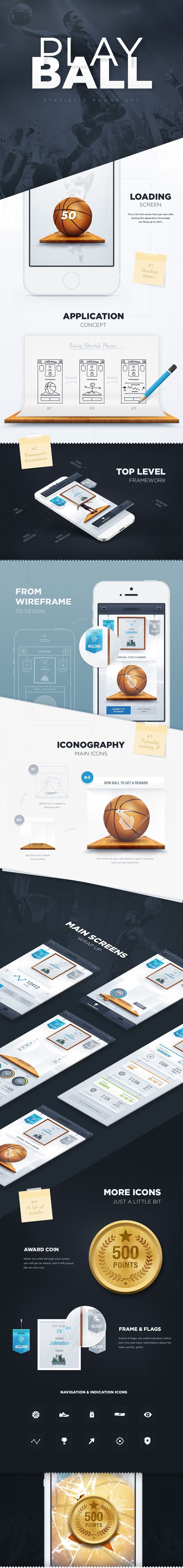 PLAYBALL #webdesign #responsivedesign #ui #ux