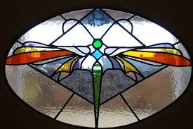 Image result for stained glass panels for cupboards