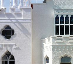 Strawberry Hill - Horace Walpole's amazing house now fully restored to the tune of 9 million pounds!