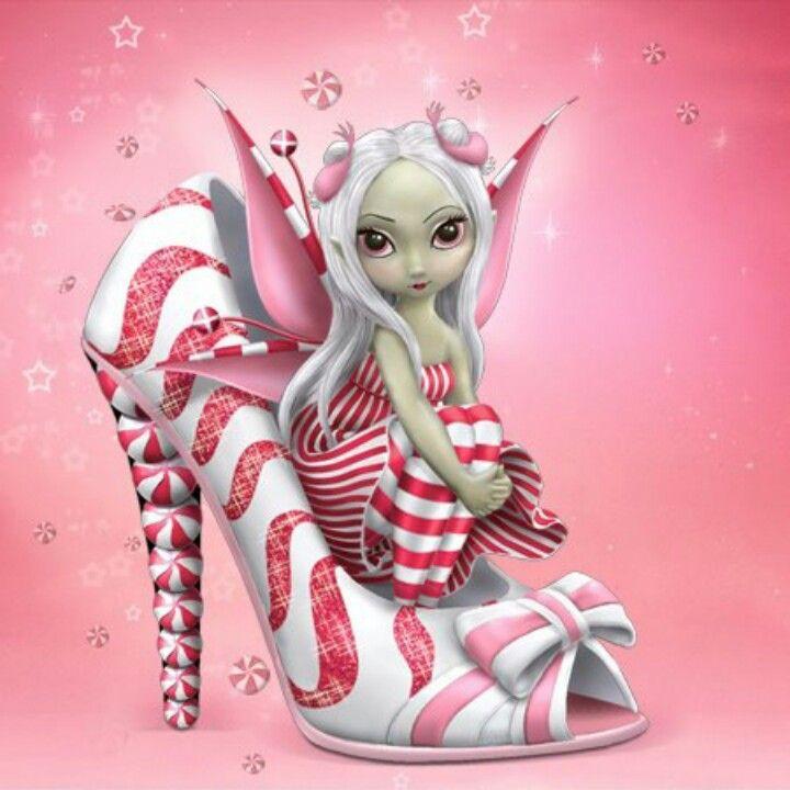 shoe fairy Convert to cross stitch.