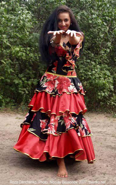 romanichal+costumes | Romani Gypsy dance by Roza Danchenko
