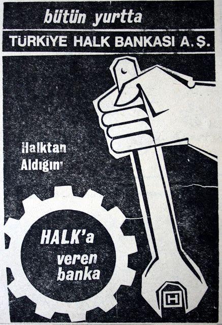 OĞUZ TOPOĞLU : bütün yurtta türkiye halk bankası aş halktan aldığ...