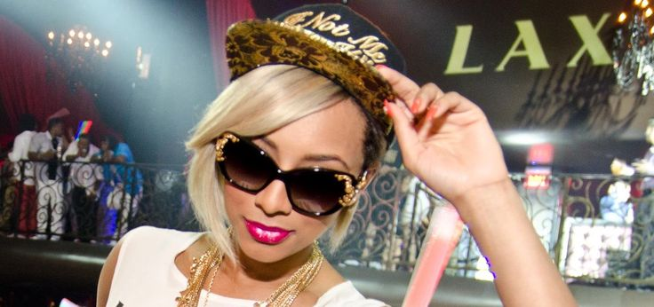 6 PARTY PHOTOS: Keri Hilson Kicks Off Memorial Day In Las Vegas With Basketball Beau