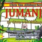 Jumanji  by Chris Van Allsburg:  An In-Depth Picture Book Study for Grades 3-8  Purchase all My Chris Van Allsburg Book Studies as a Bundle and $av...