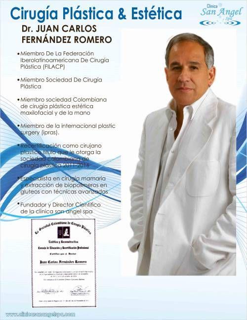 Doctor Juan Carlos Fernandez Romero - Clínica San Angel Spa.