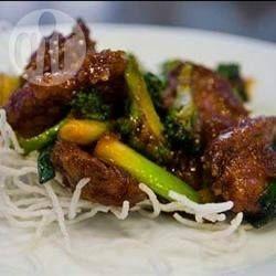 Stir Fried Beef and Spring Onions @ allrecipes.com.au