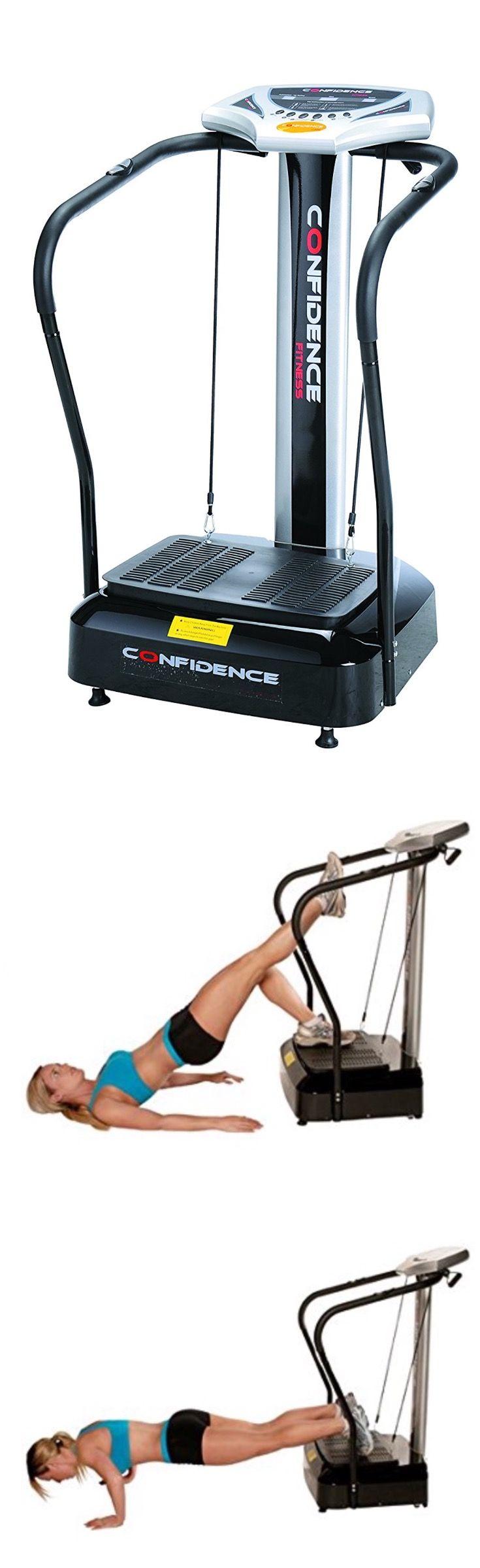 Confidence Full Body Vibration Platform Fitness Machine for Low Impact Exercises  $ 249.99