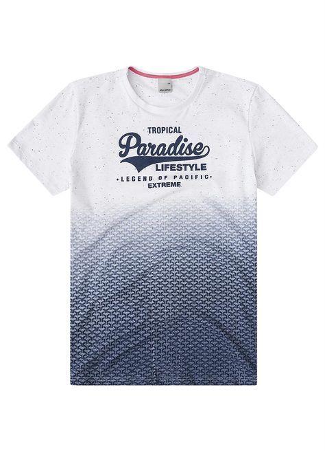 Camiseta Slim Branco Malwee - Malwee Adulto