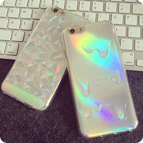Holographic iPhone case want it!