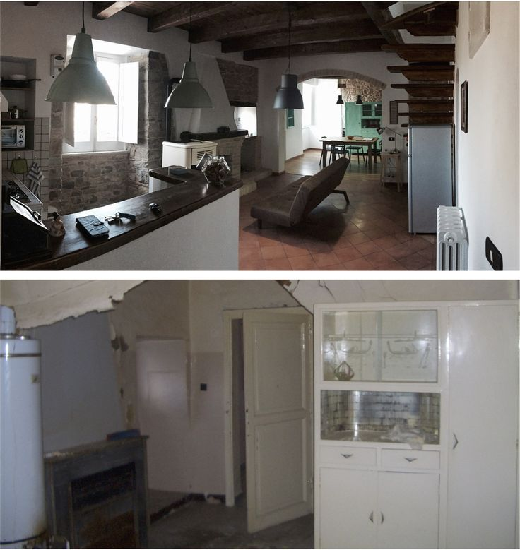 Private House Renovation - Before and after works