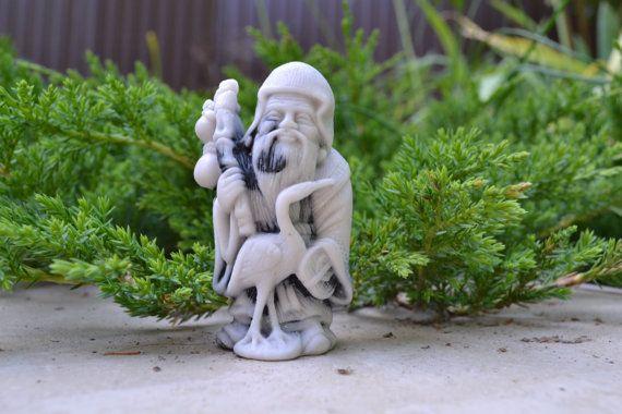 "Unique vintage figurine made of marble ""Ebisu "" on Etsy, 25,99$"