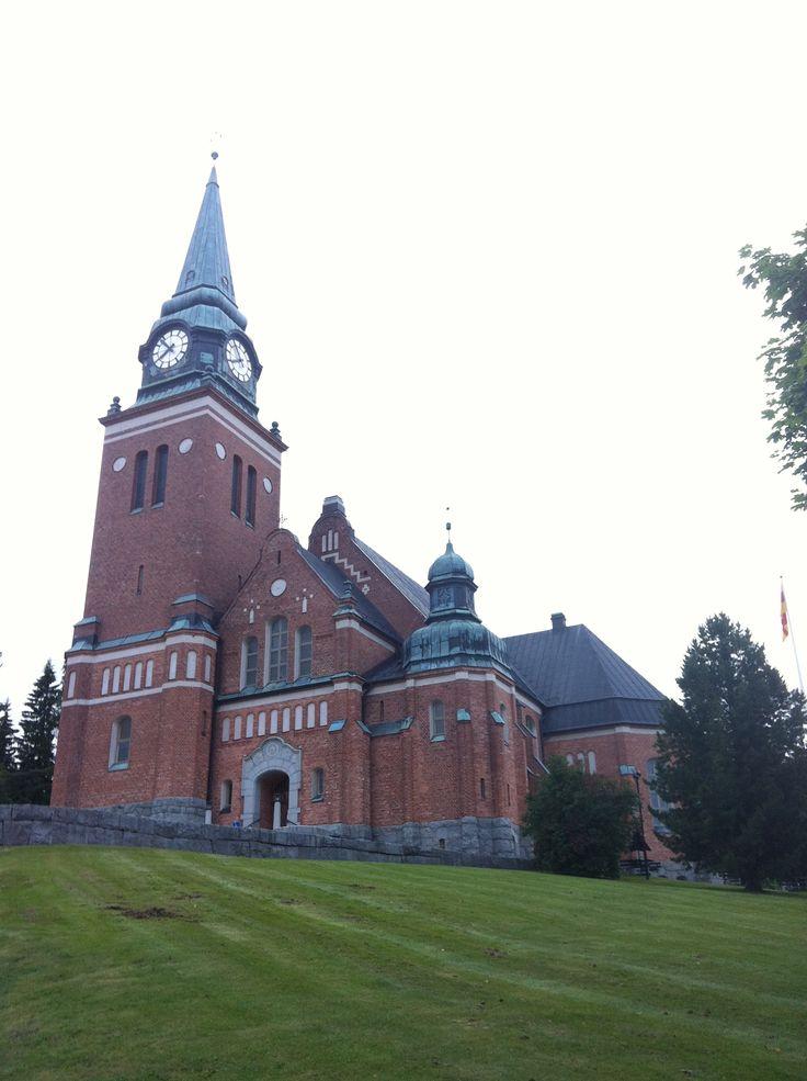 Örnsköldsvik's Town Church.