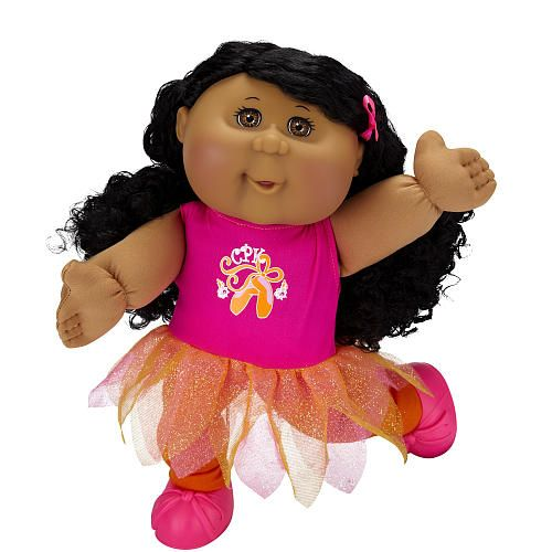Cabbage Patch Kids Toddler Doll African American Girl Brunette ...