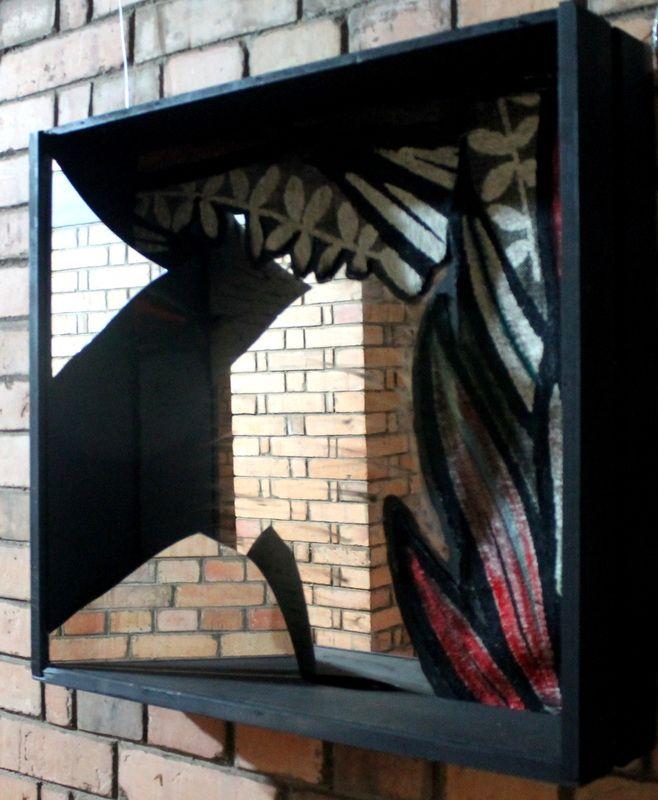 Tridimensionais - grace ivo IMAGEM IMPERFEITA, técnica mista, 0,62x0,66x0,15 m, 2014