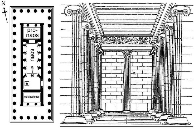 Храм Аполлона Эпикурейского в Бассах Temple of Apollo Epicurius at Bassae Всемирное наследие ЮНЕСКО Иктин 430-420гг до н.э Использовано 3 типа колонн
