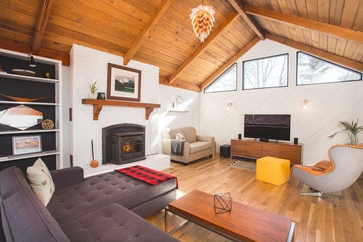 Vantage Build - Joyfully Warm Rothesay Reno | house interior | house interior design | house interior colors | house interior ideas | dream home | living room ideas | fireplace