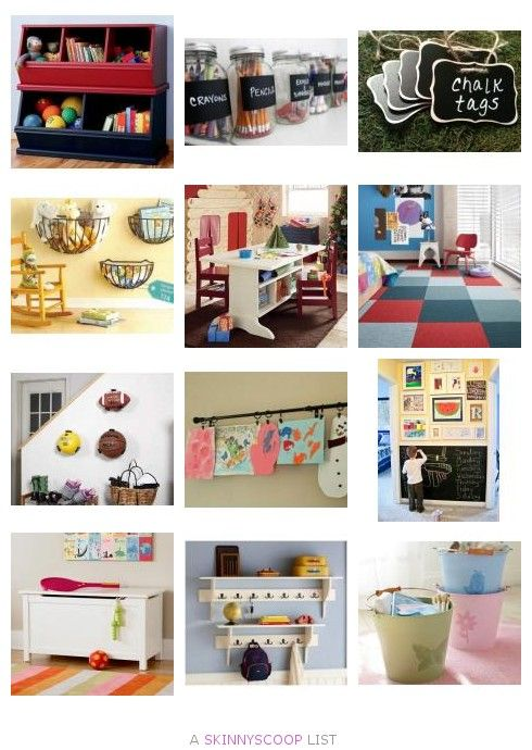 Best Ideas and Products to Keep The Playroom Organized