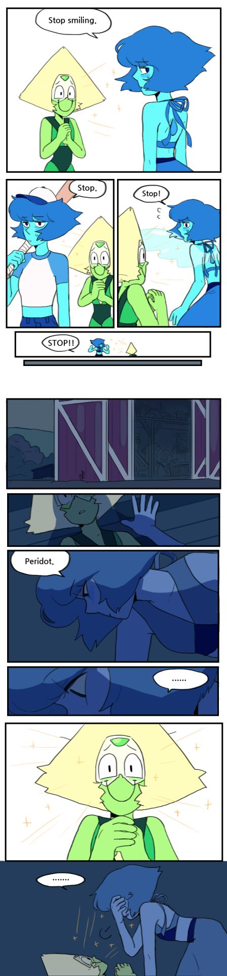 steven universe / all gems / crystal gems / homeworld gems / peridot / pearlidot / south korea