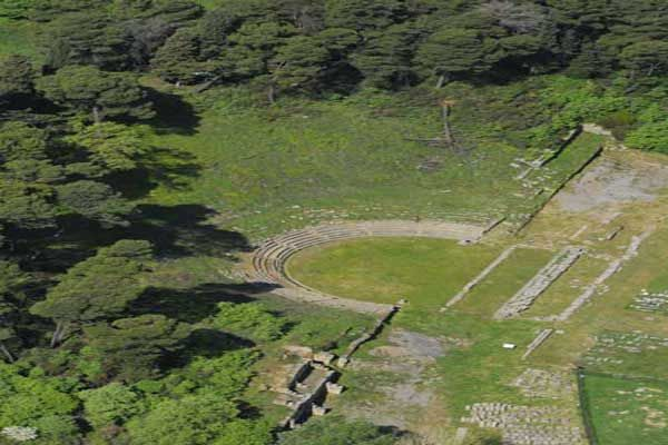 The Ancient Theatre of Megalopolis
